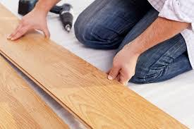 Laminating course, flooring, parquet